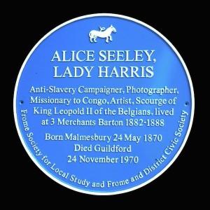 Alice Seeley Plaque