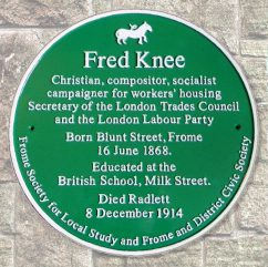 Fred Knee plaque